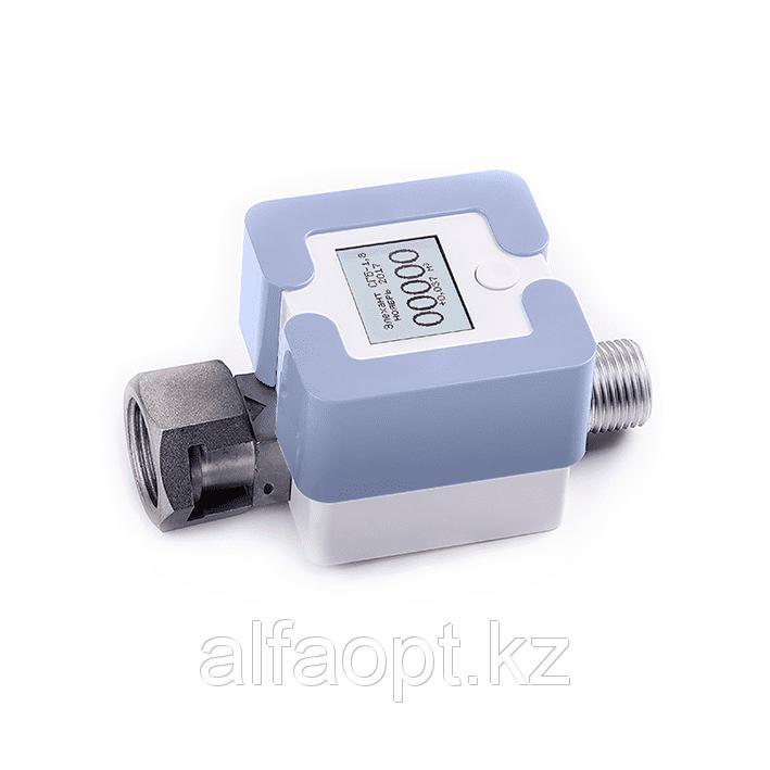Счетчик газа Элехант СГБ (1,8 Г-ТК; G1/2; Светло-голубой)