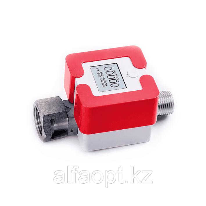Счетчик газа Элехант СГБ (4 Г-ТК; G3/4; Красный)