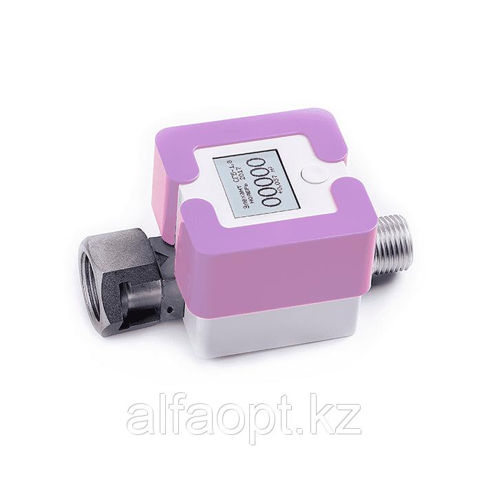 Счетчик газа Элехант СГБ (4 Г; G3/4; Фиолетовый)