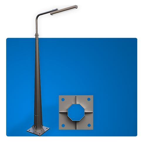 Buy Supports of external lighting