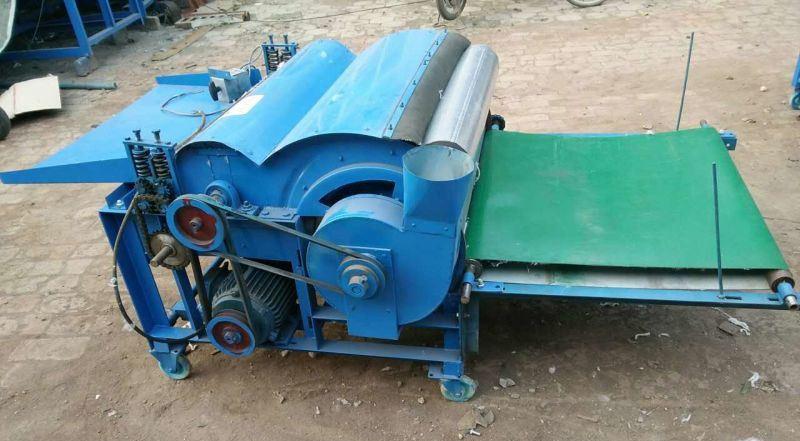 Универсальный чесальный станок 40 кг в час для шерсти и ваты