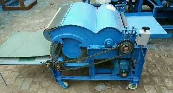 Универсальный чесальный станок 50 кг в час для шерсти и ваты