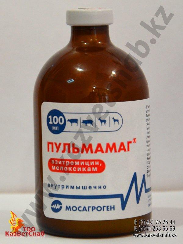 Пульмамаг (Азитромицин + Мелоксикам)