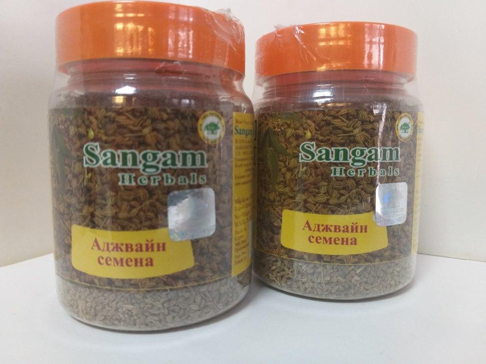 Аджвайн семена 80 гр, Sangam Herbals