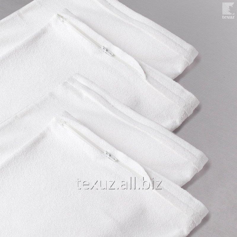 Протектор на подушку махровая с мембраной