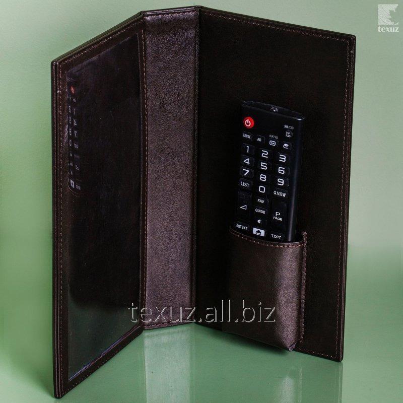 Папка кожаная для пульта управления ТВ