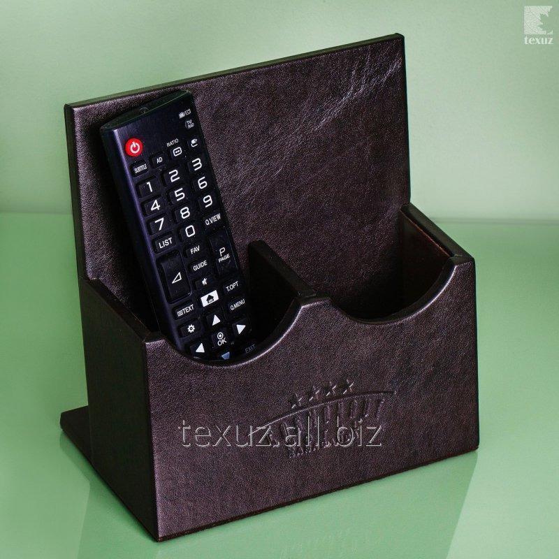 Купить Подставка кожаная под пульт управления ТВ