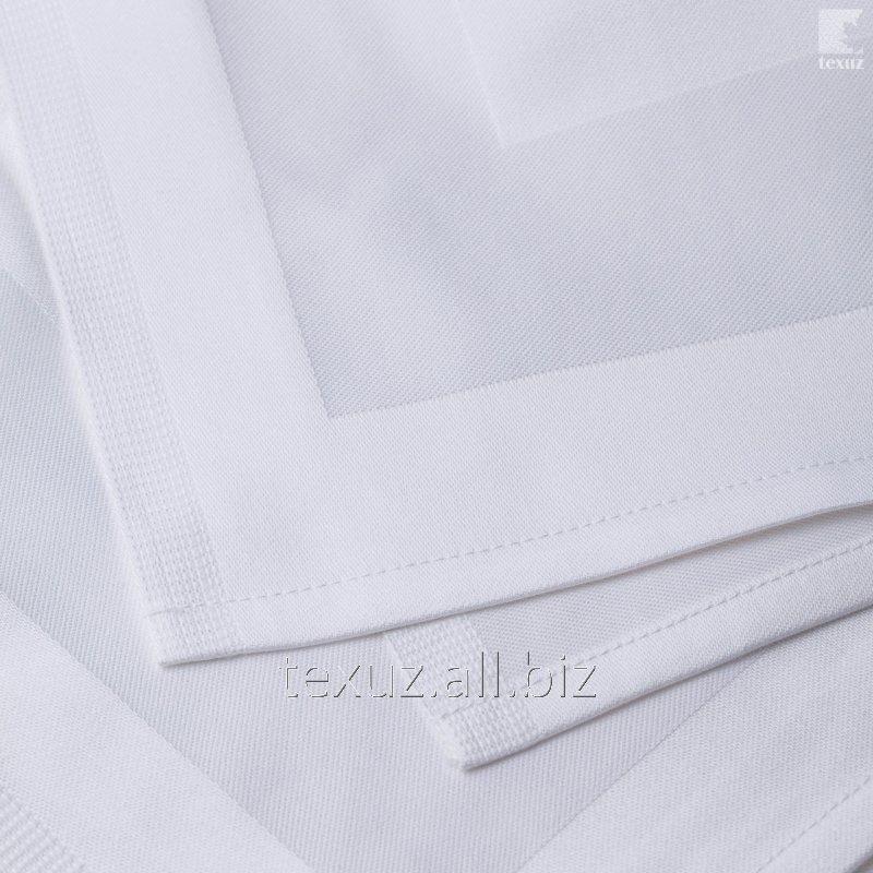 Салфетка с сатиновой рамкой