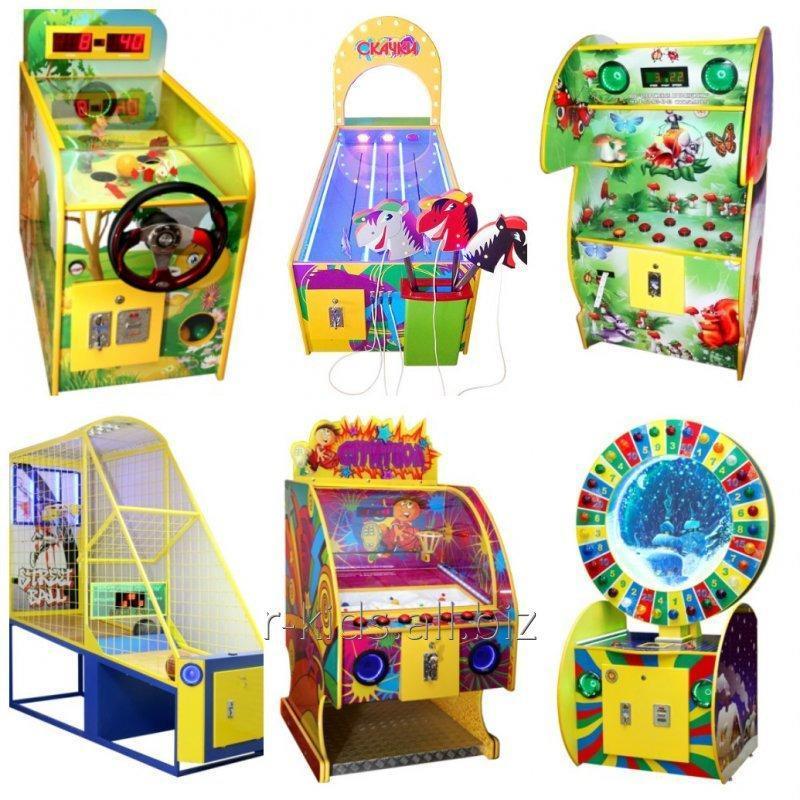 игровые детские аппараты атракционы,
