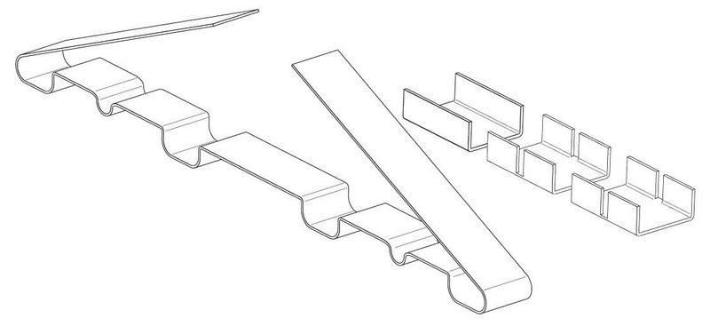 Зажим крепежный СР/2Т.4-50 М