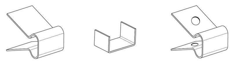 Зажим крепежный СР/К.1-25 ЦО (упак. 50шт.)