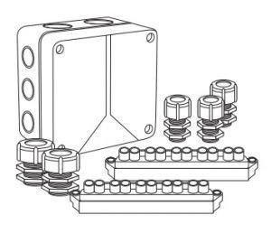 Коробка монтажная Abox 100/S/1 (стандарт)