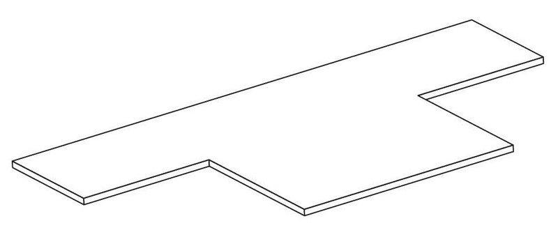 Кронштейн для опуска кабеля в трубу ТС.04 Ц