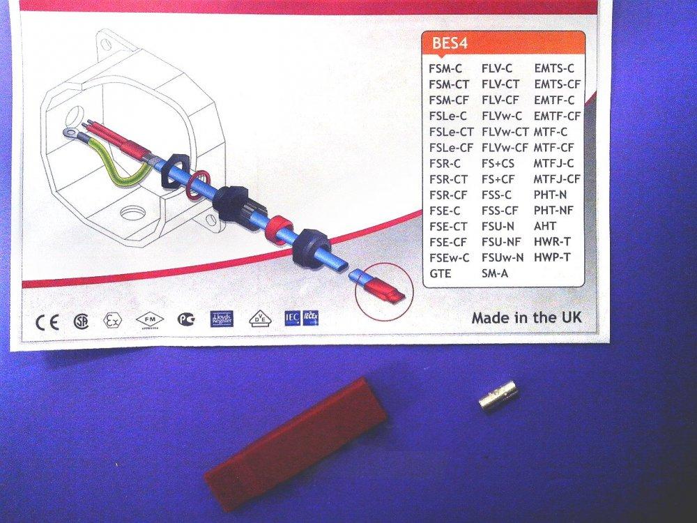 Купить Набор BPS4 конечной заделки нагревательного кабеля с силиконовым наконечником № 4