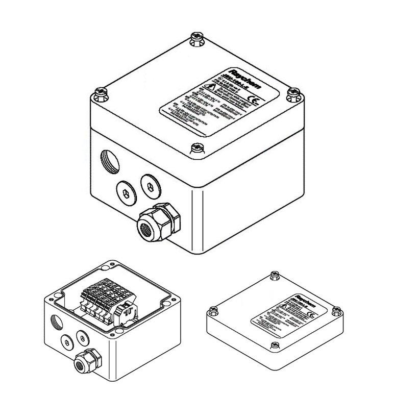 Купить Соединительная коробка JBU-100-EP (Eex e)
