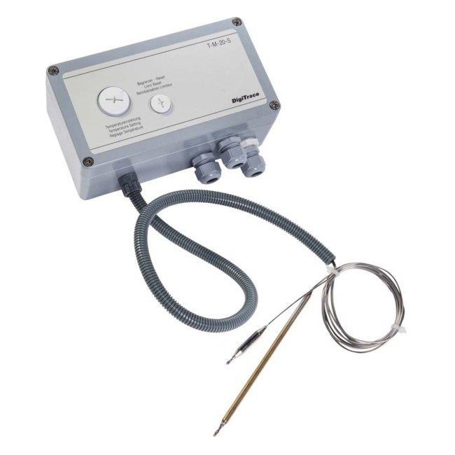 Термостат с ограничителем температуры T-M-20-S/+0+120C/EX
