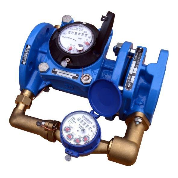 Комбинированный счетчик холодной воды Тепловодомер DN 100