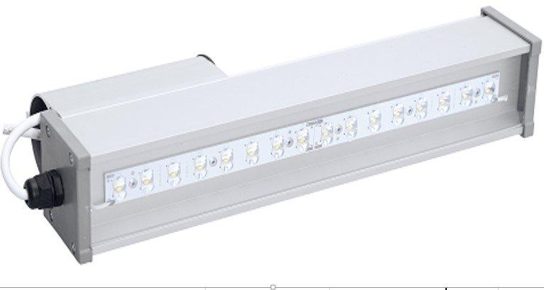 Светодиодный линейный светильник LINE-S-055-20-50