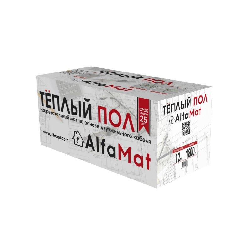 Купить Мат нагревательный AlfaMat-150 (12,0 м²)