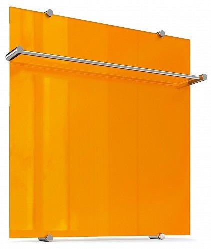 """Полотенцесушитель """"Теплолюкс"""" Flora 60х60 оранжевый"""