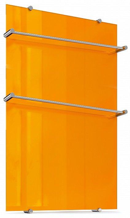 """Полотенцесушитель """"Теплолюкс"""" Flora 60х90 оранжевый"""