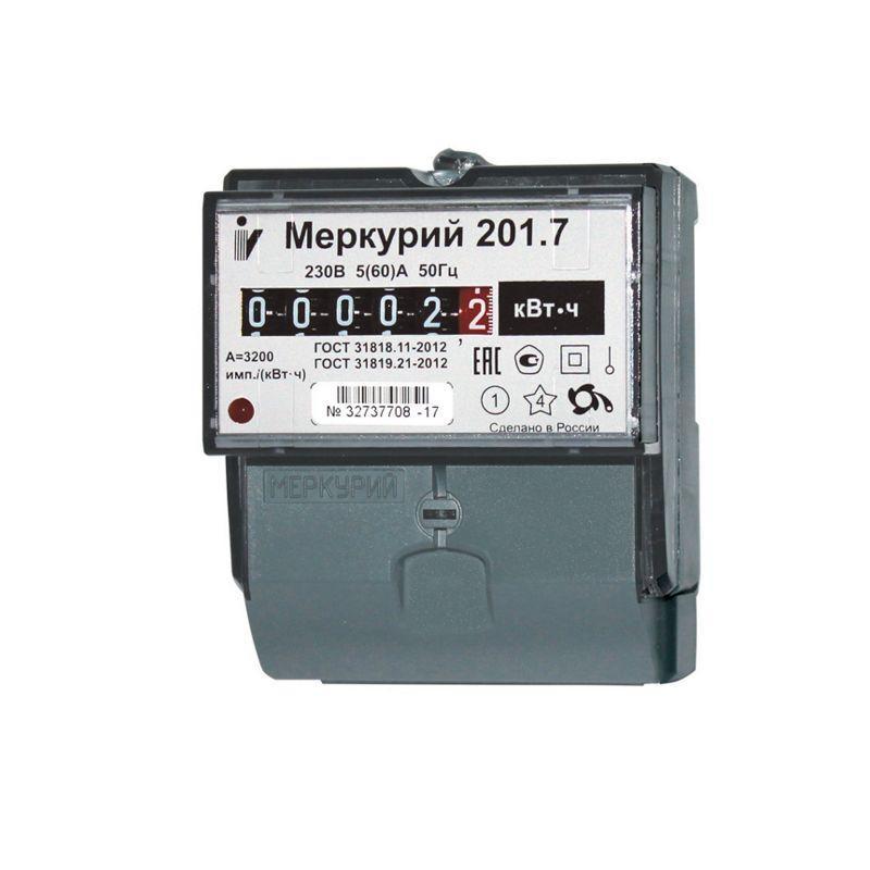 Купить Счетчик электричества Меркурий 201.7