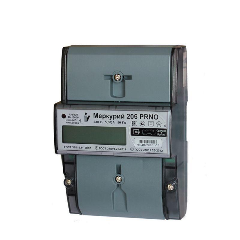 Купить Счетчик электричества Меркурий 206 PRNO