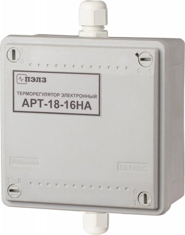 Терморегулятор АРТ-18-16-НА IP56 (3 кВт) с датчиком KTY-81-110 3 кВт DIN