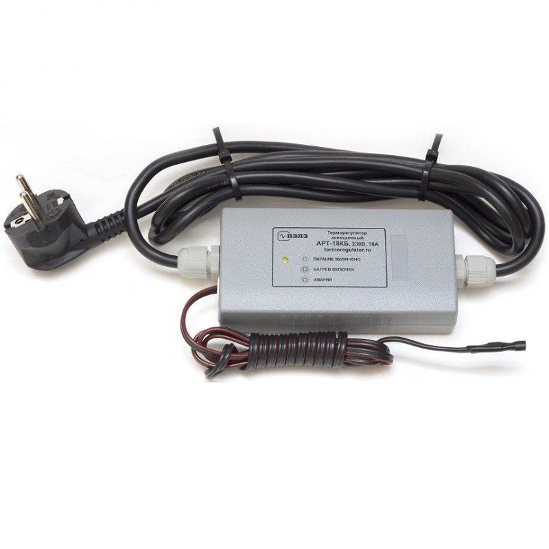 Терморегулятор АРТ-18КБ 3 кВт для саморегулирующихся кабелей и греющих лент