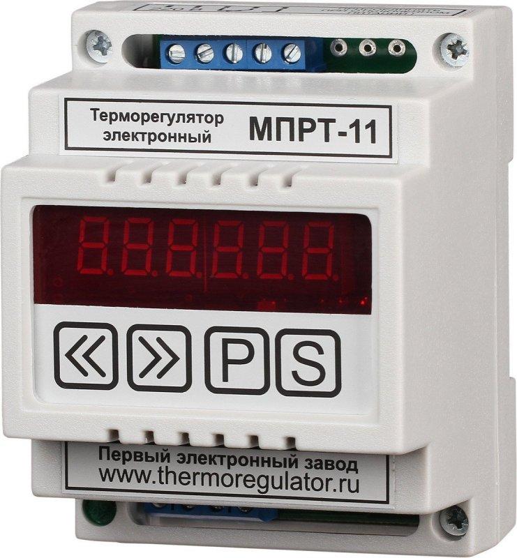 Терморегулятор МПРТ-11 без датчиков цифровое управление DIN
