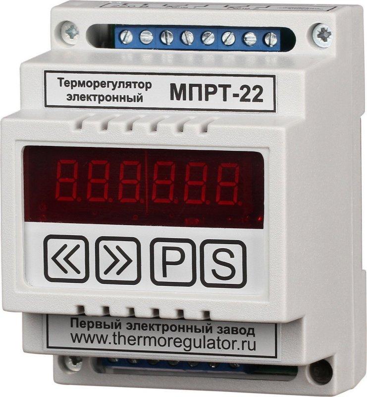 Терморегулятор МПРТ-22 без датчиков цифровое управление DIN
