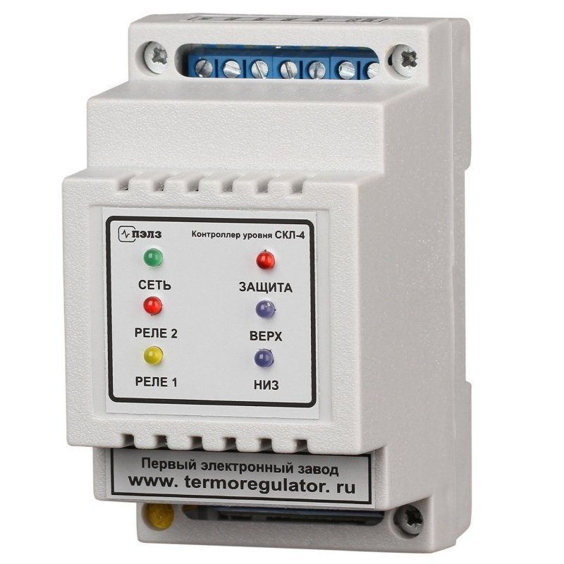 Модуль контроллера уровня СКЛ-4 (без датчиков)
