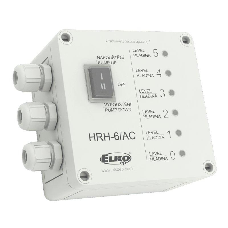 Мультифункциональный контролер уровня жидкости HRH-6/AC