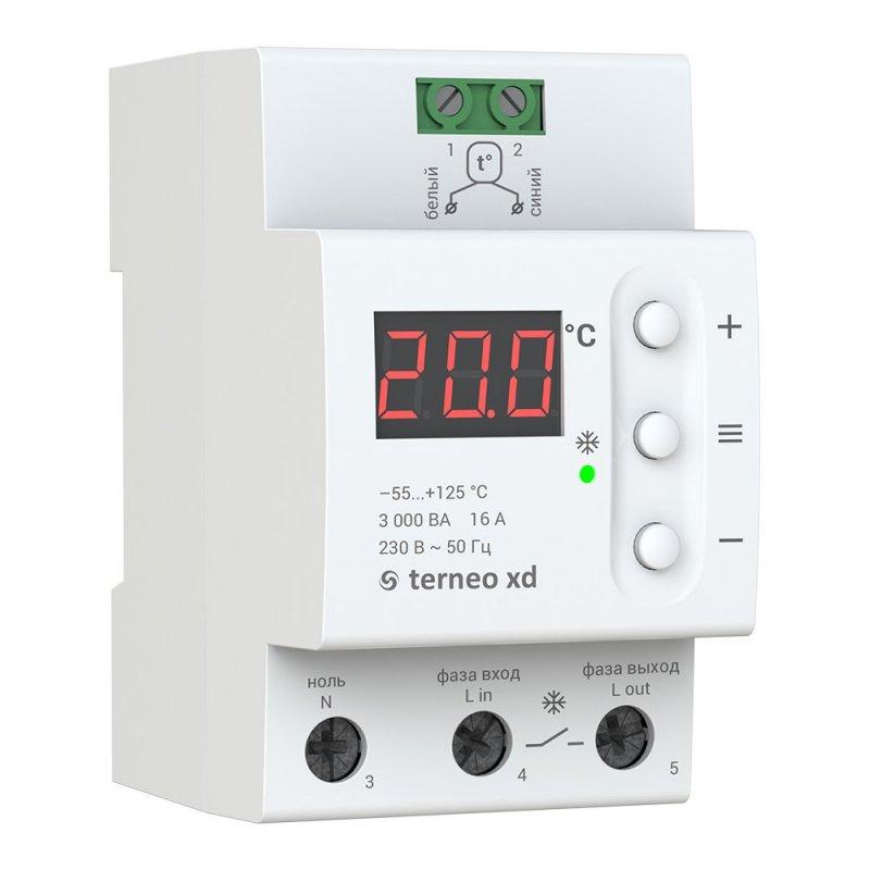 Купить Терморегулятор для систем охлаждения и вентиляции Terneo xd