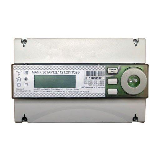 Купить Счетчик электроэнергии МАЯК 301АРТД.112Т.2ИПО2Б
