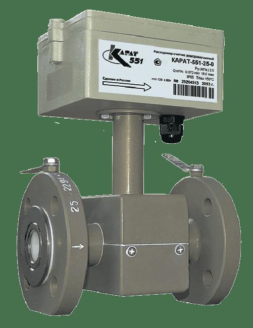 Купить Расходомер электромагнитный КАРАТ-551-20