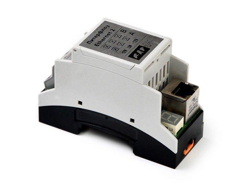 Купить Адаптер Ethernet для расходомеров ПИТЕРФЛОУ