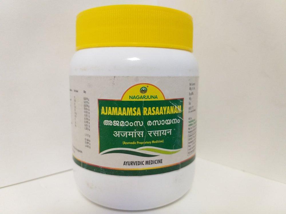 Аджамамса расаяна, 500 гр, Нагарджуна, Ajamamsa Rasayanam, Nagarjuna
