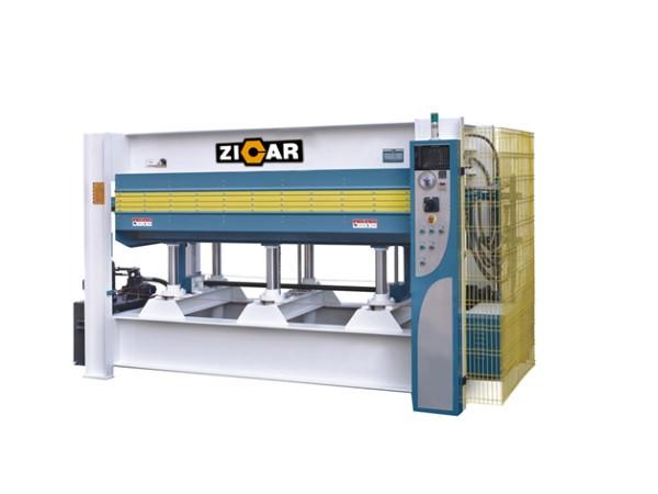 Купить Гидравлический горячий пресс с плоскими столами JY3848AX120 усилие 120 тонн