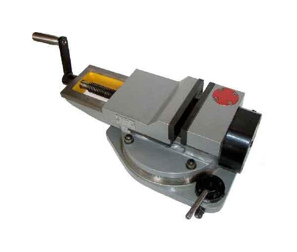 Купить Тиски станочные пневматические с гидравлическим усилением поворотные 7201-0009-02