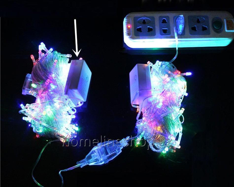 Купить Гирлянда новогодняя 100 лампочек