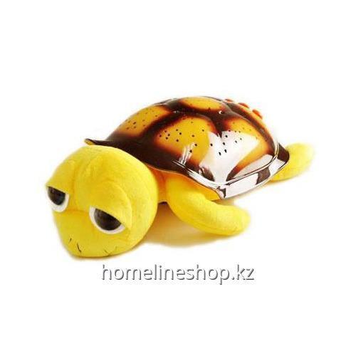 Ночник - проектор черепаха( желтая)