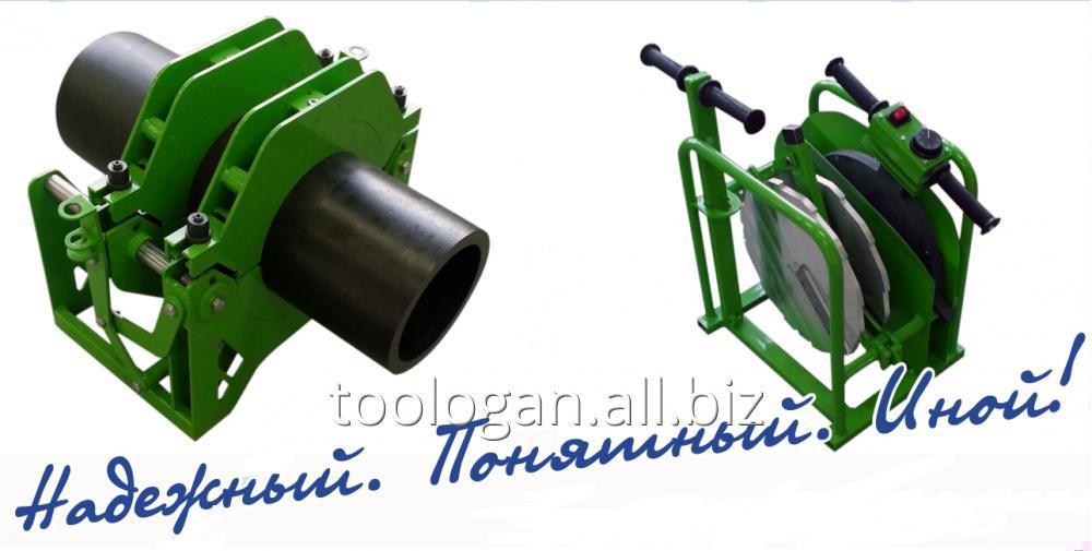 Купить Аппарат для стыковой сварки полимерных труб MONSTER 160 EL