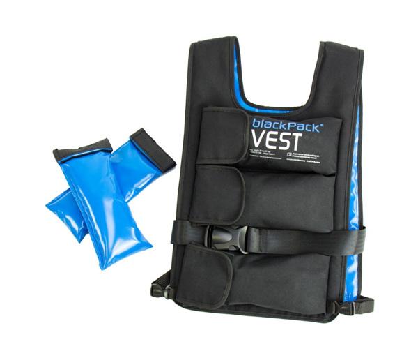 Купить Aerobis. Жилет-утяжелитель с отягощением blackPack Vest.