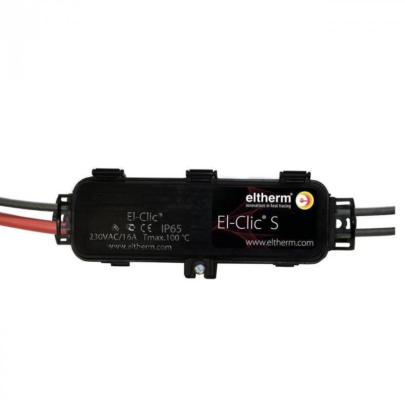 El-Clic S Быстроразъёмный соединитель для подключения греющих кабелей тип ELSR-LS -N, -W. Non-Ex
