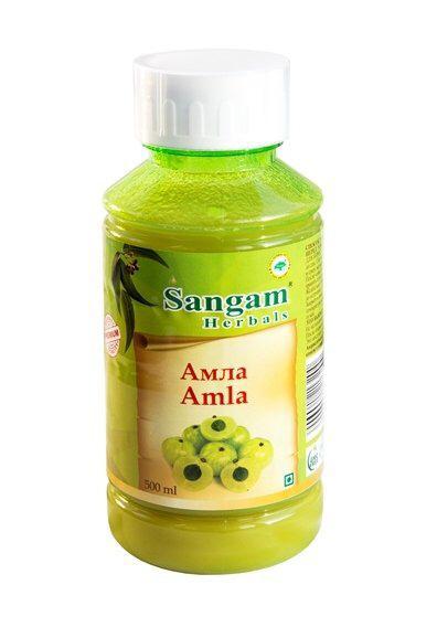 Натуральный сок Амлы, 500 мл, Сангам, Amla