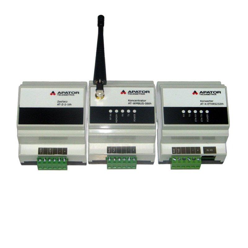 Купить Концентратор Тепловодомер AT-WMBUS-GSM