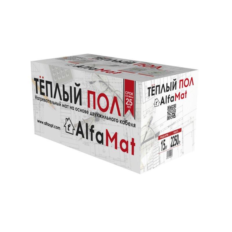 Мат нагревательный AlfaMat-150 (15,0 м²)
