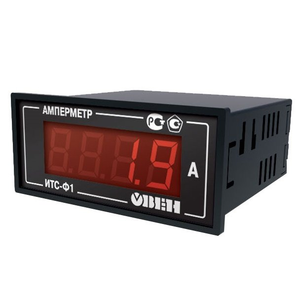 Амперметр ИТС-Ф1.Щ3 (переменный ток, 0,02...5 А)