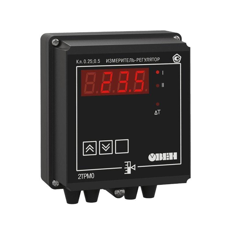 Измеритель-регулятор двухканальный 2ТРМ0-Щ11.У